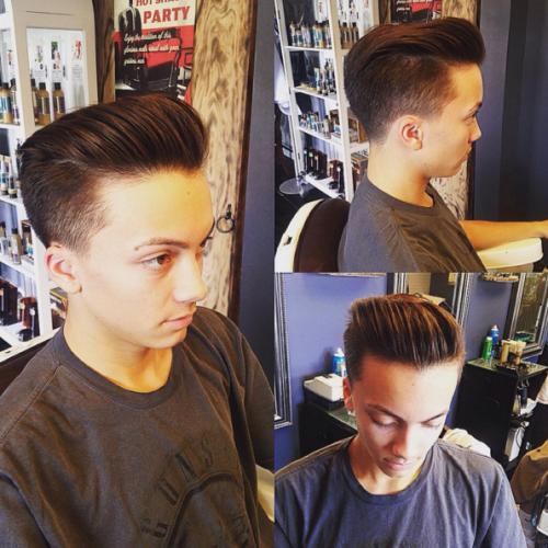 Mens Haircut Bergen County NJ 14