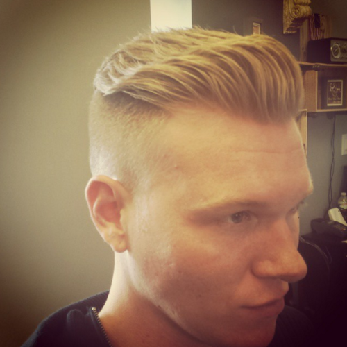 Mens Haircut Bergen County NJ 8